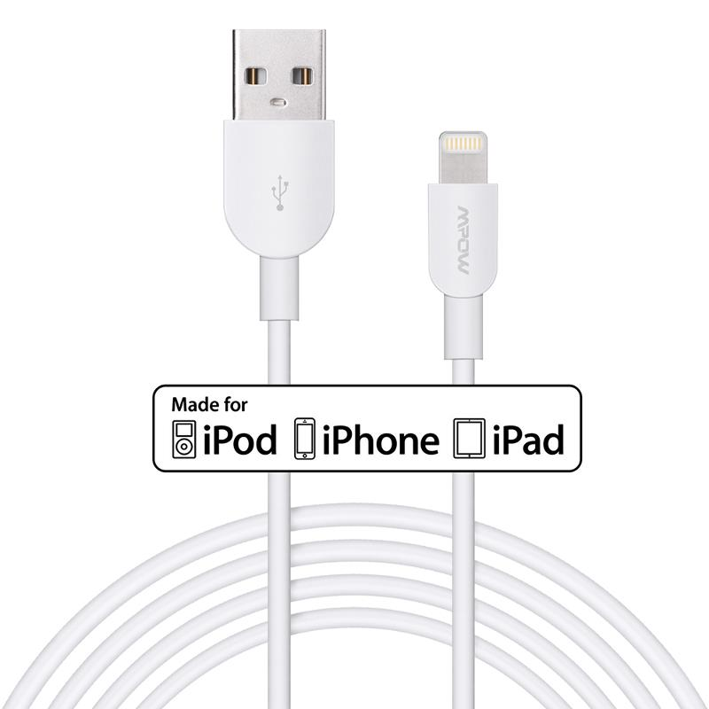 mpow mfi certified lightning to usb charging data sync