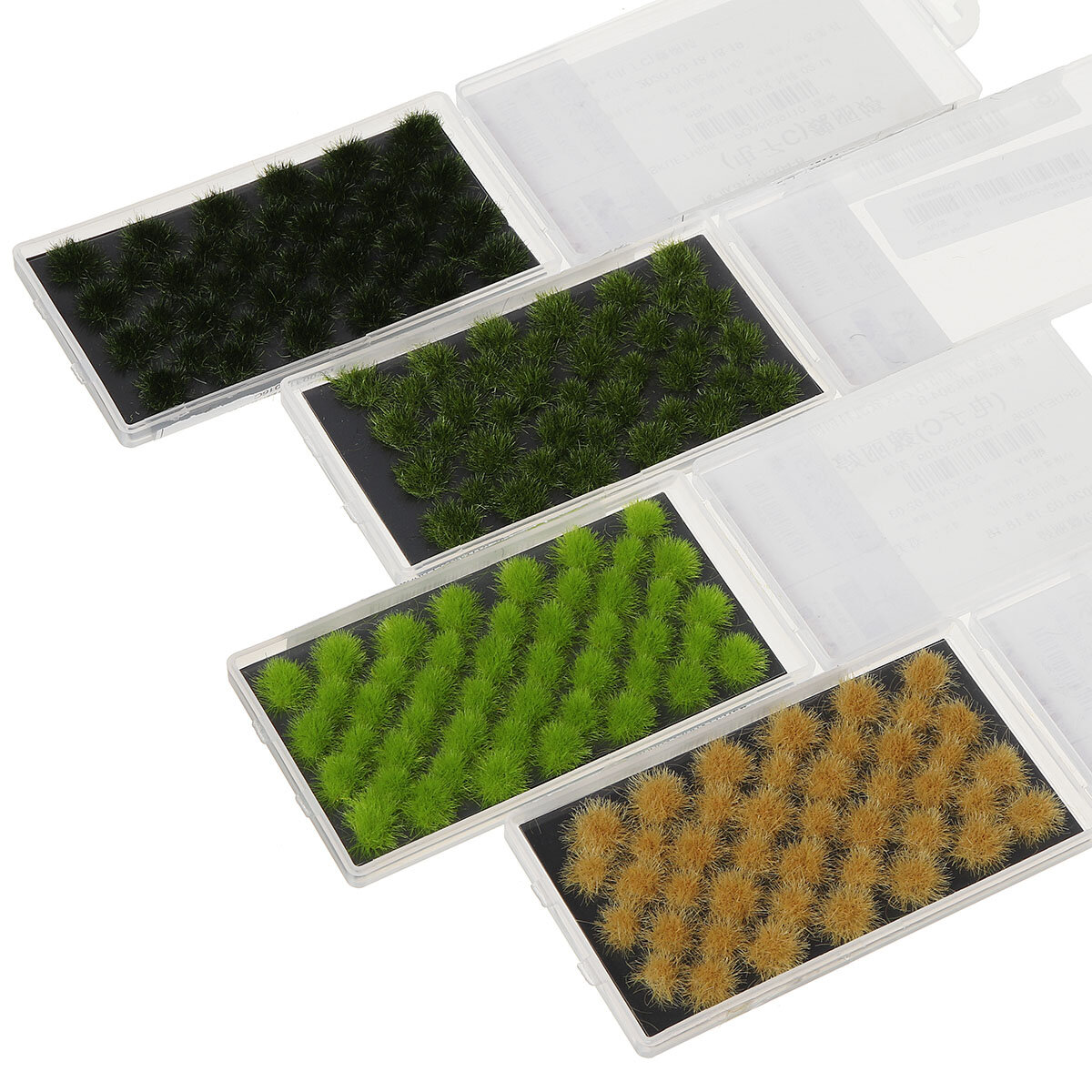Decorazioni per tappeti accessori fai da te sintetici artificiali in polvere modello erba sintetica