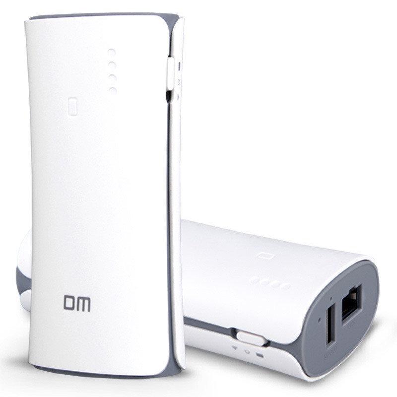 DM WFD017 Draadloze USB Flash Drive WiFi Delen Smart Pen Power Bank Voor iPhone7 / 7 Plus Samsung PC