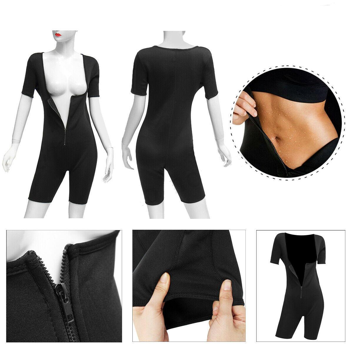 edd33cff0e7 Womens Shapewear Full Body Sweat Shaper Slimming Fitness Gym Sport Sauna  Suit Vest COD