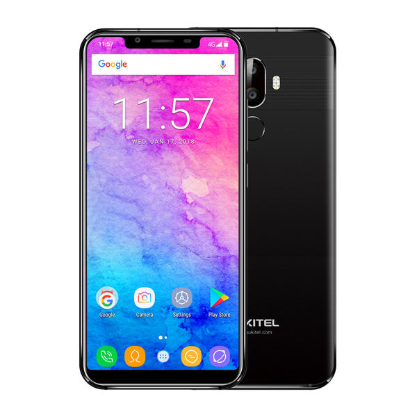 Oukitel U18 5.85 Inch 21:9 Full Screen Face ID 4GB RAM 64GB ROM MT6750T 1.5GHz 4000mAh 4G Smartphone