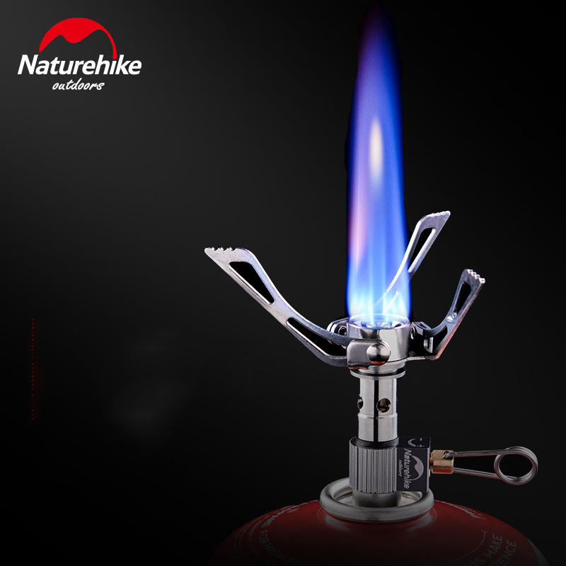 Outdoor Stoves Sports & Entertainment Lovely Naturehike Mini Foldable Outdoor Camping Stove Gas Stove Ovens Portable Windproof Picnic Cooker Tableware 40g