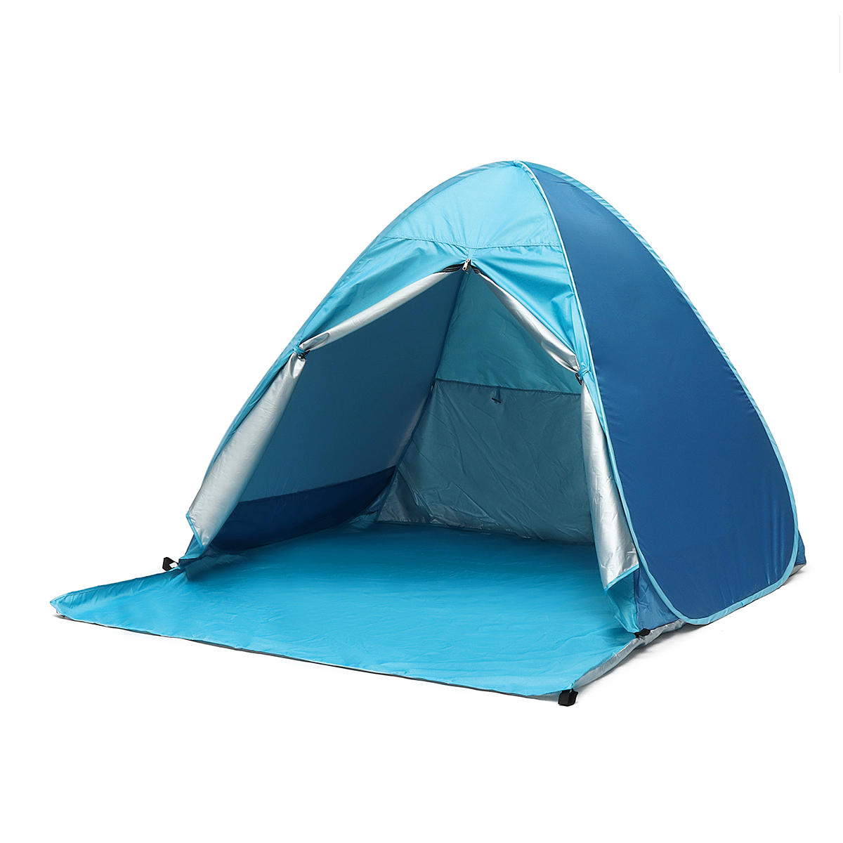Outdoor 4 People C&ing Beach Pop Up Tent Automatic Waterproof Anti-UV Sunshade Canopy COD  sc 1 st  Banggood & outdoor 4 people camping beach pop up tent automatic waterproof anti ...
