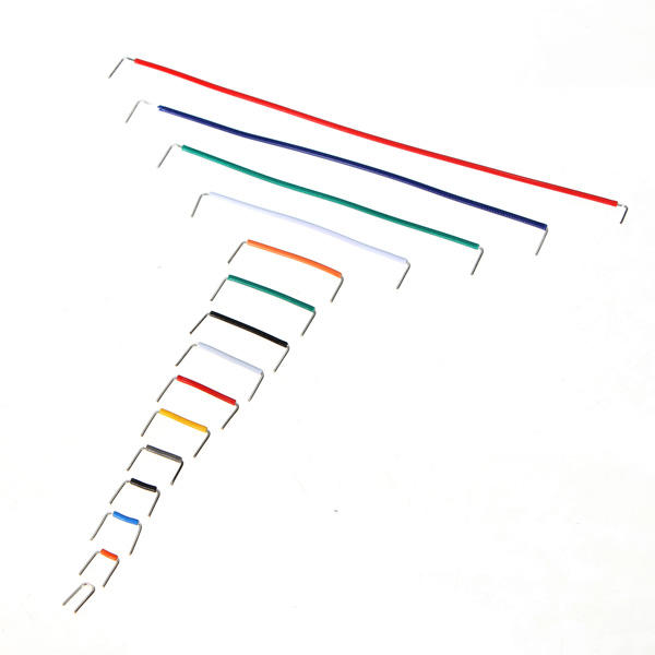 3 x 140pcs u shape solderless breadboard jumper cable dupont wire arduino shield sale
