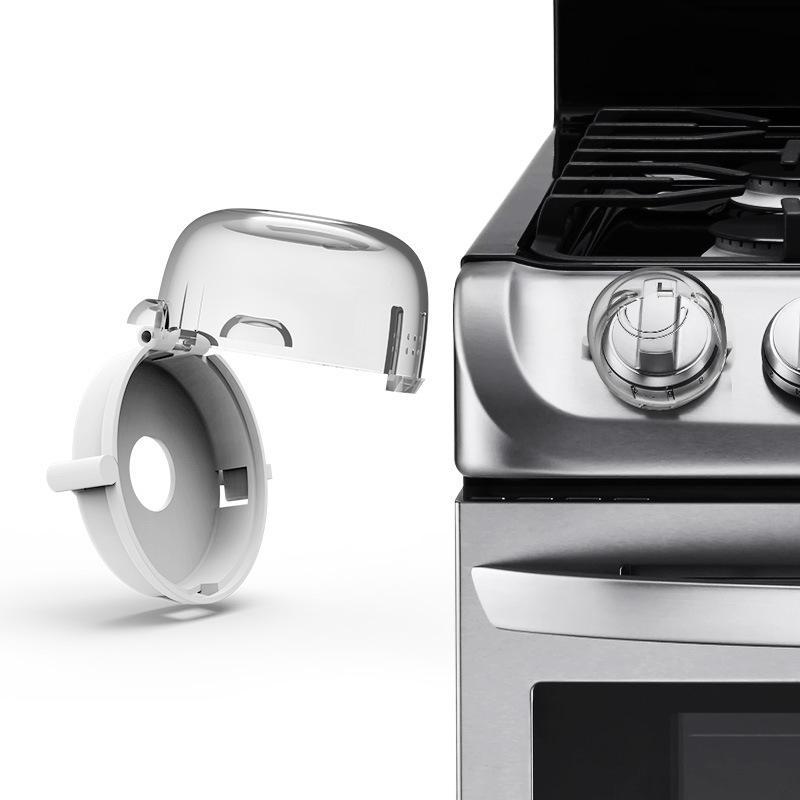 Beideli child security protector transparente dise o cocina universal gas estufa interruptor - Protector antisalpicaduras cocina ...