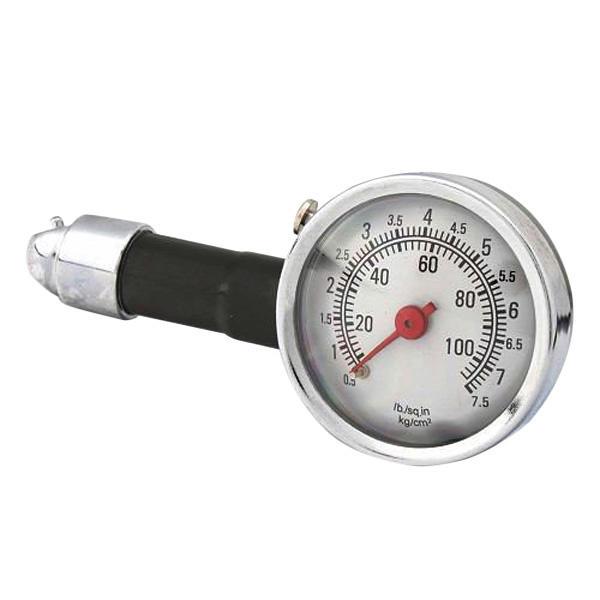 Manómetro medidor de precisión medida del neumático de presión de línea del coche de metal