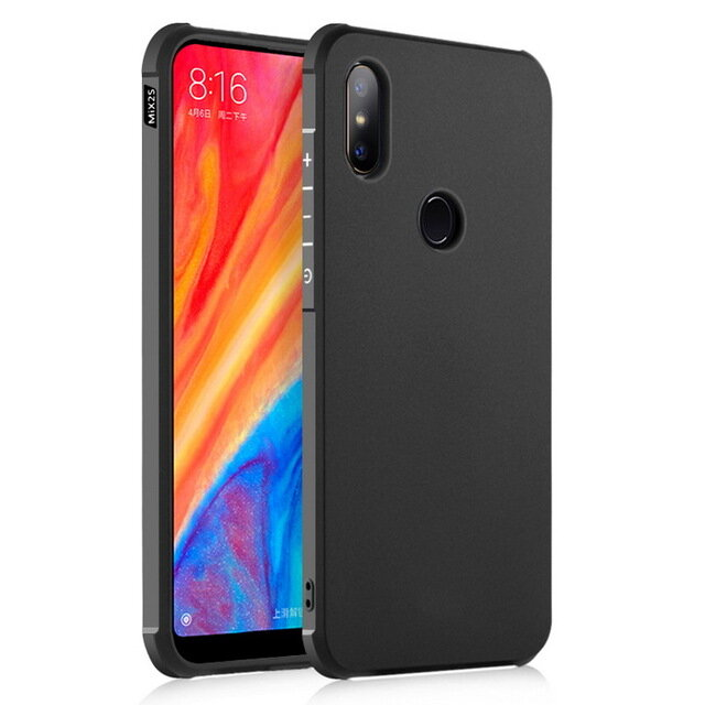 Bakeey Ultra Slim Shockproof Soft Silicone Protective Case for Xiaomi Mi MIX 2S
