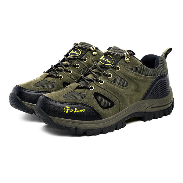 fed991cee Big Size Men Sport Shoes Outdoor Running Mountaineering Shoes Casual  Comfortable Shoes COD