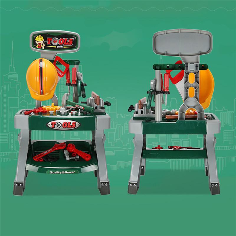 Outils de bricolage Workbench enfants Pretend jeu de rôle jeu de jouets