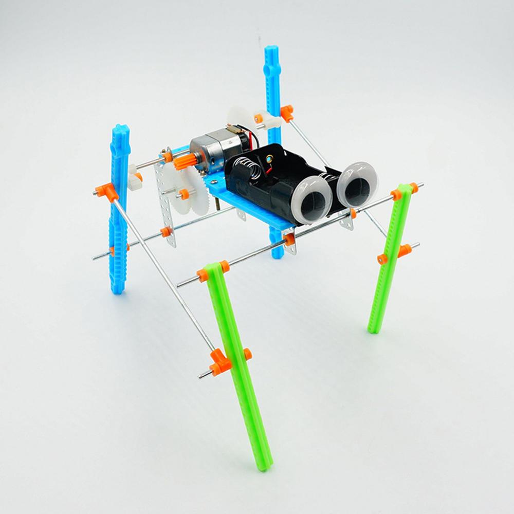 DIY elektrischer vierbeiniger gehender Roboter-pädagogisches Spielzeug-Roboter brachte Spielzeug für Kinder zusammen