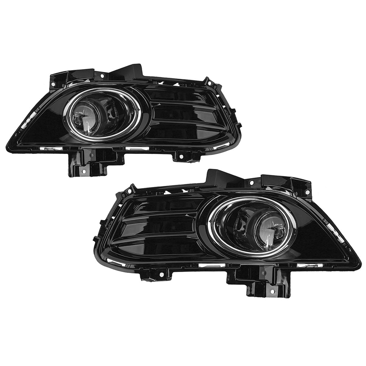 Pair Car Front Fog Lights Lamp Full Kit W Wiring Switch Bezel For Ford Fusion