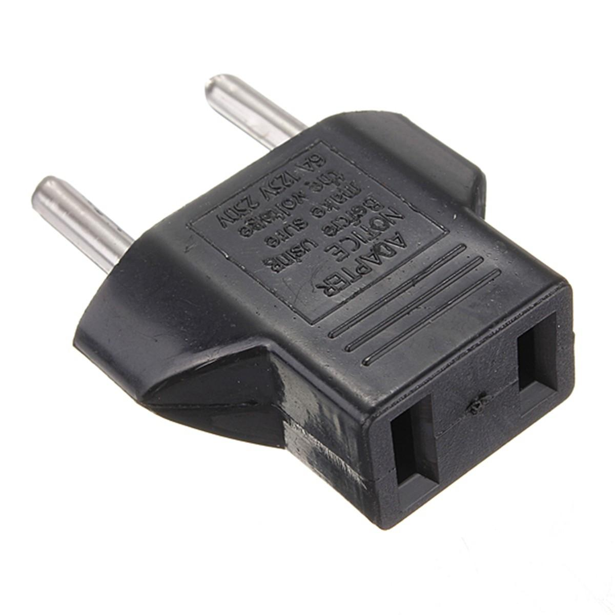Claite US per EU Travel AC Power presa di corrente Plug Adapter Converter 2 Pin AC 125V / 250V