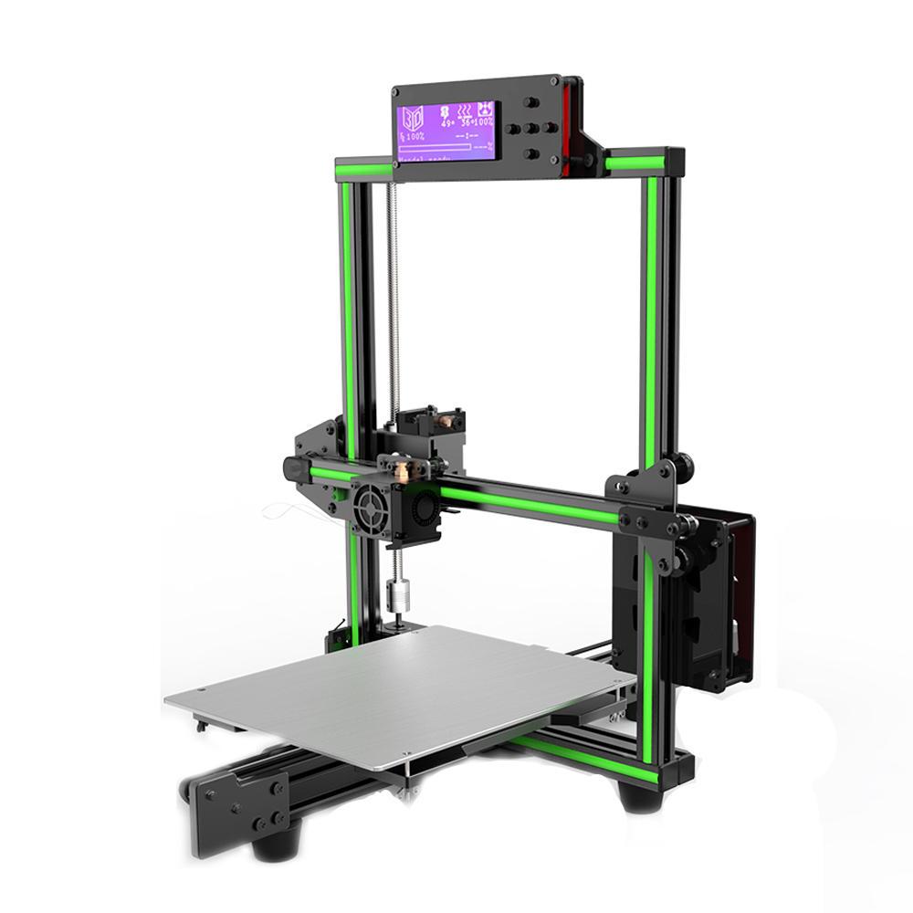 Anet® E2 Diy Aluminum Alloy Frame 3d Printer Kit Low Noise