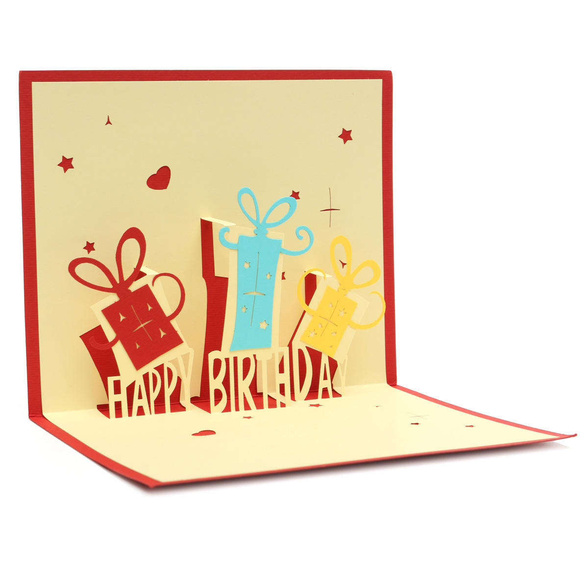 Handcraft Happy Birthday 3d Greeting Card Party Pop Up At Banggood Sold Out
