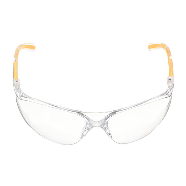 Anti-UV PC Protective Glasses Goggles Yellow Legs Protection for Lab