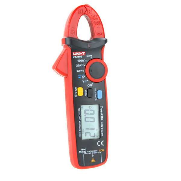 UNI-T UT210E Multifunction AC/DC Current Mini Digital Clamp Ammeter