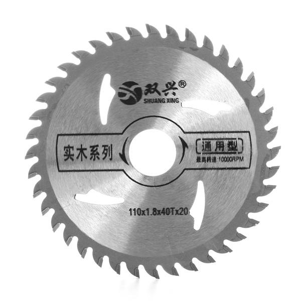 110mm 40 Teeth Circular Saw Blade Metal Cutter Wood Cutting Wheel Discs Woodworking Tool