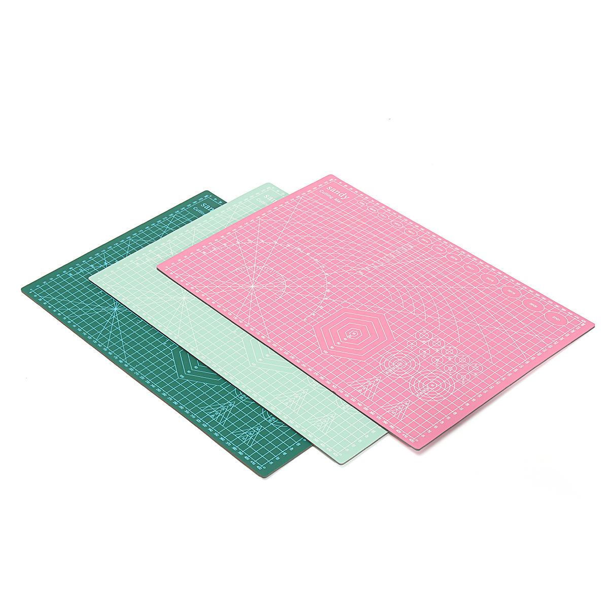 Suleve ™ CM01 A3 Tapis de coupe en PVC auto-réducteur pour artisanat 450x300x2.5 mm
