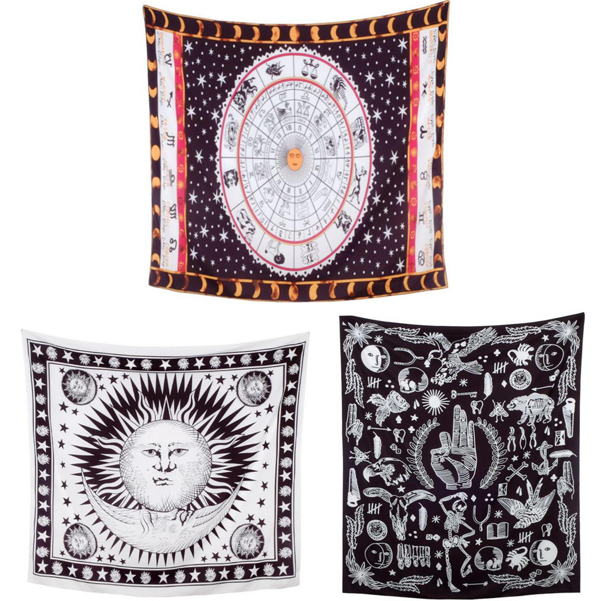 Mysterious Tapestry Wall Hanging Mandala Boho Wall  Throw Bedroom Home Decor New
