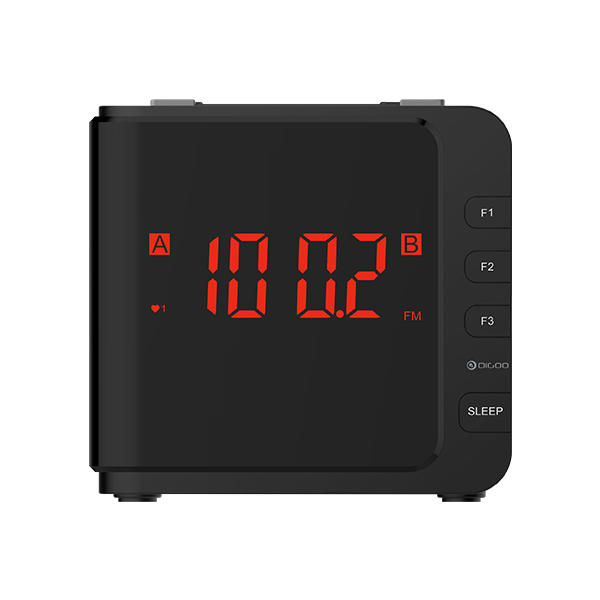 Digoo DG-CR7 LED Large Display USB Alarm Clock Radio Digital AM/FM Radio Dual Alarm With Snooze