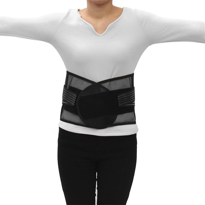 Adjustable Elastic Lumbar Lower Back Support Waist Brace Trainer Belt Body Care Pain Relief