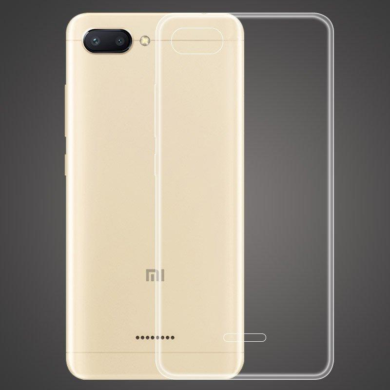 Bakeey™ Transparent Ultra Thin Soft TPU Back Cover Protective Case for Xiaomi Redmi 6A