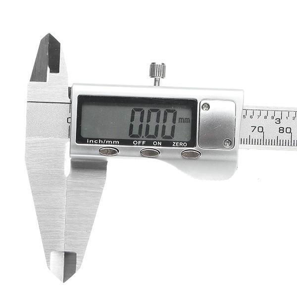 Digital Caliper 0-200mm 0.01mm Stainless Steel Electronic Vernier Caliper Metric/Inch Measuring Tool