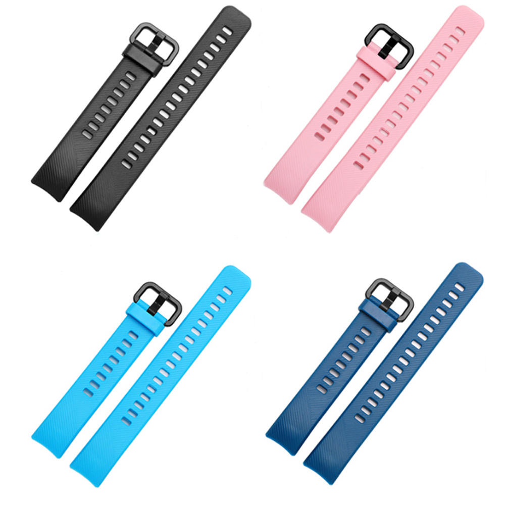 Bakeey Remplacement Silicone Couleurful Montre Bande Bracelet pour Huawei Honor Montre Smart Watch Band 4