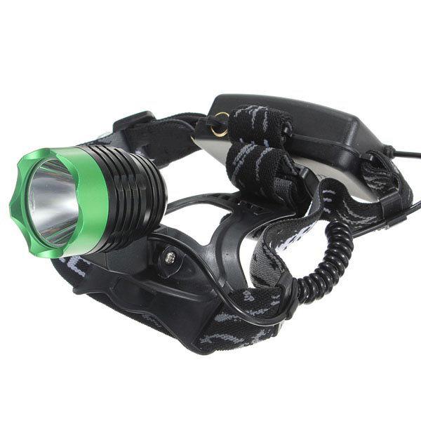 Faro anteriore per bicicletta T6 LED Faro regolabile a 3 modalità regolabile