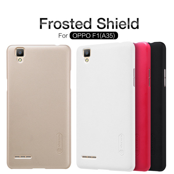 NILLKIN Super Frosted Shield PC Case Cover For OPPO F1 A35
