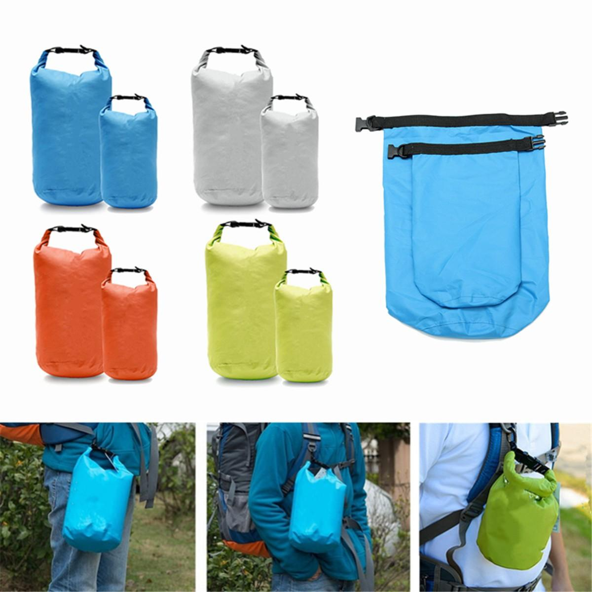 Sports & Entertainment Outdoor Portable Pvc Waterproof Backpack Storage Sack Kayak Rafting Bag Sport Bags Travel Equipment Street Price