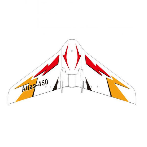 Oversky Atlas-450 450mm ปีกกว้าง Micro FPV แข่ง Flying Wing RC เครื่องบิน BNF