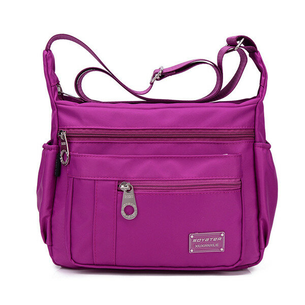 Other Warehouse. Send me purchase update on Messenger. Women Men Nylon  Waterproof Bags Casual Outdooors Sports Light Weight Shoulderbags Crossbody  ... 9db5f585a8