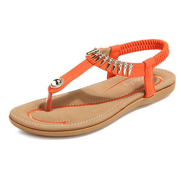 c41a4431d5ea SOCOFY Big Size Women Summer Soft Sole Slip On Outdoor Beach Sandals COD