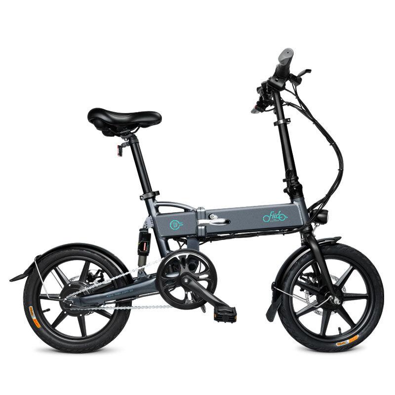 FIIDO D2 36V 7.8Ah 250W 16 pouces pliant cyclomoteur vélo 25 km / h Max 50 km vélo électrique