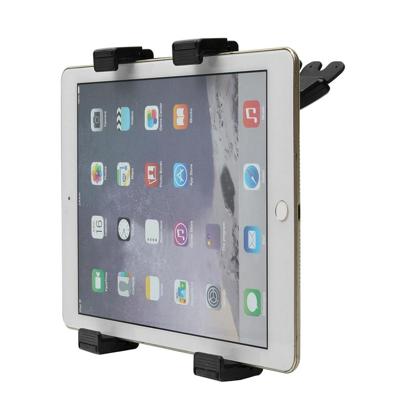 360 ° rotatie-CD-slotautomaat Stand Holder voor 7-11 inch tablet / iPad Mini 1/2/3/iPad Air