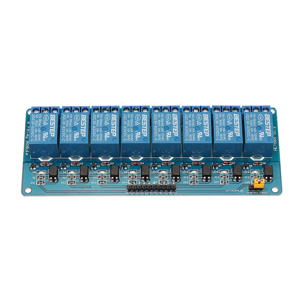 Bestep 8 Channel 33v Relay Module Optocoupler Driver Control Electronic Components Blog Pest Repeller Circuit Board Low Level For Arduino