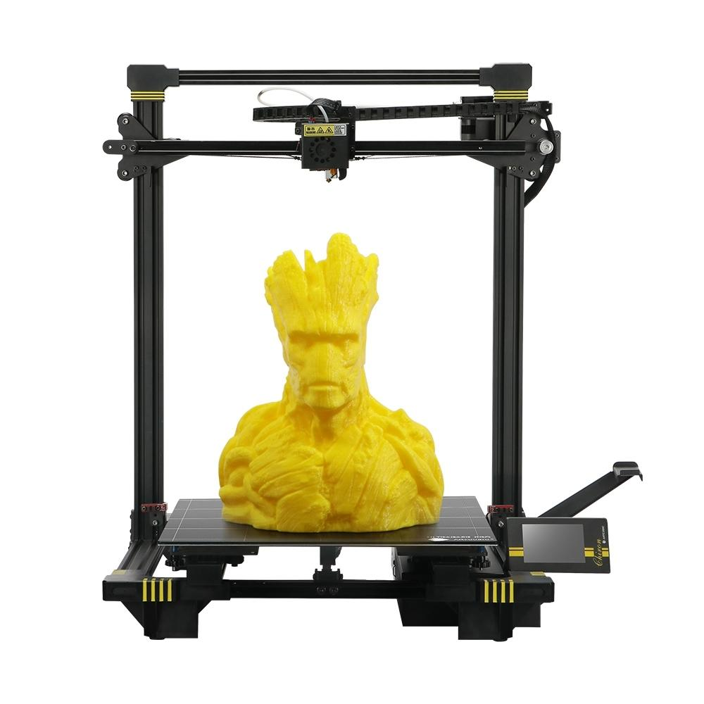 Anycubic® Chiron 3D Printer 400*400*450mm Printing Size With Matrix Automatic Leveling/Ultrabase Pro Hotbed/Power Resume/Filament Sensor/Dual Z-axis/TFT Touch Screen/Modular Design