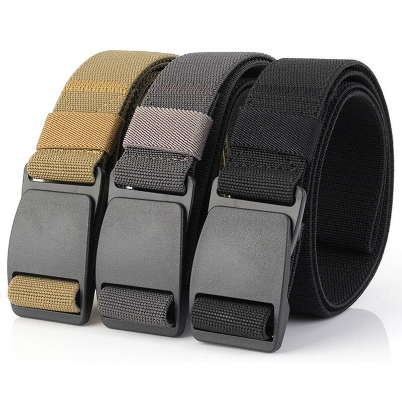 125 CM ENNUI militar Cinturones de seguridad elástico de la armadura del  estiramiento Thick Tactical Nylon 7625a3b32b44