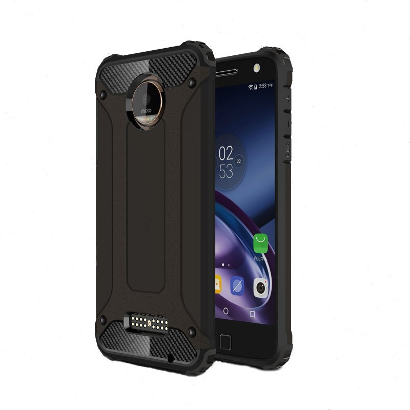 Armor TPU+PC Shockproof  Back Cover Case For Motorola Moto Z Play