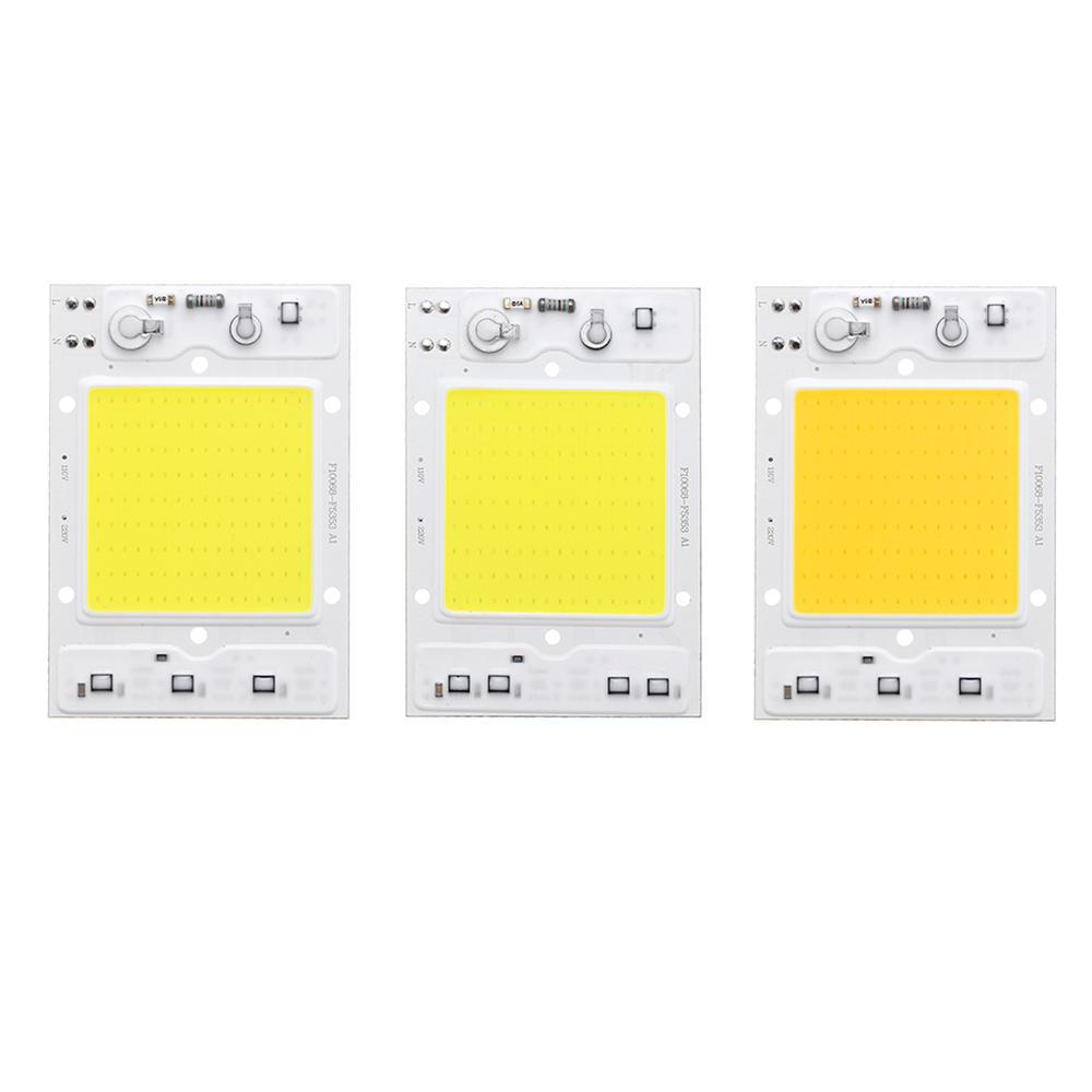 LUSTREON AC110V / 220V 30W 40W 50Wホワイト/ウォームホワイトCOB LEDチップ100lm / w DIYフラッドライト用