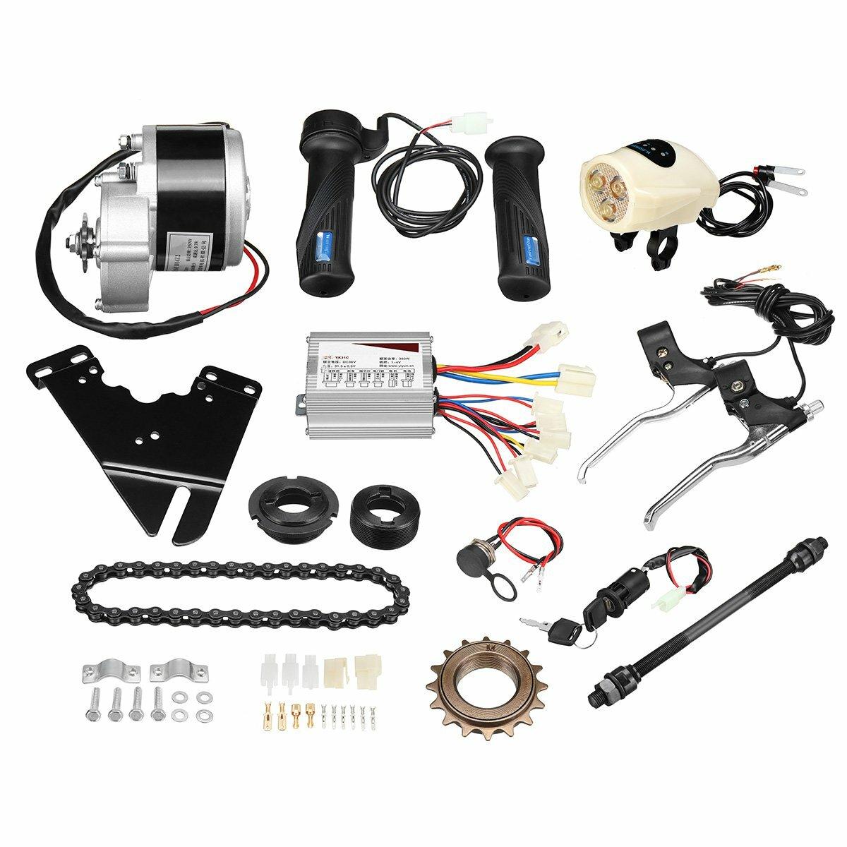 Elektrischer Roller-Umwandlungs-Roller-Motorprüfer Satz 36V 250W für gewöhnliches Fahrrad 22-28inch