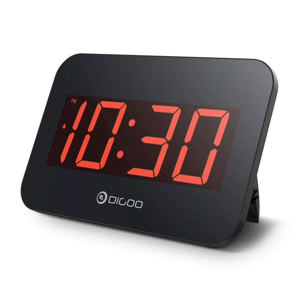 Digoo DG-K4 LED นาฬิกามัลติฟังก์ชั่ปลุกโดยอัตโนมัตินาฬิกาอิเล็กทรอนิกส์แบบอิเลคทรอนิคส์แบบ