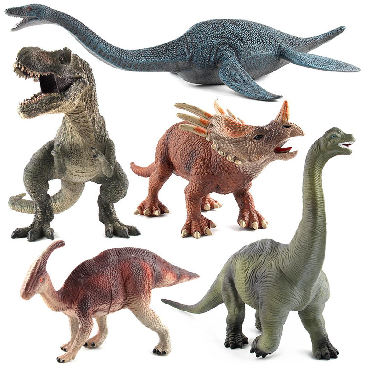 Grande Brachiosaurus Dinossauro Brinquedo Realista Plástico Sólido Diecast Modelo Presente Para As Crianças