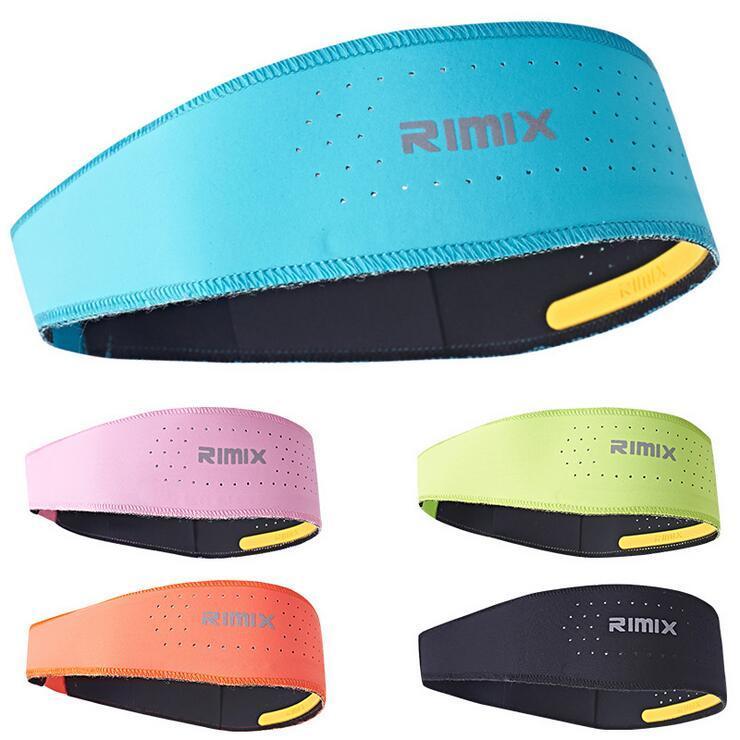 หัวรัดข้อมือเหงื่อ RIMIX Sport การออกกำลังกาย สายรัดระบายความร้อนแบบ Hidroschesis ที่ระบายอากาศได้ดี