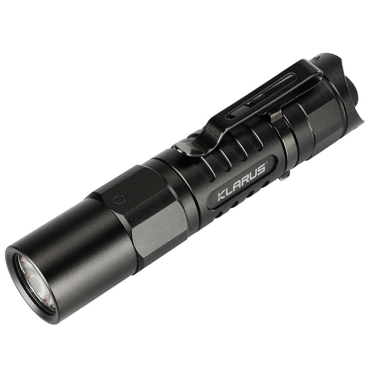 Klarus XT1A XP-L HD V6 LED 1000ルーメン5モード戦術的EDC LED懐中電灯14500またはAA