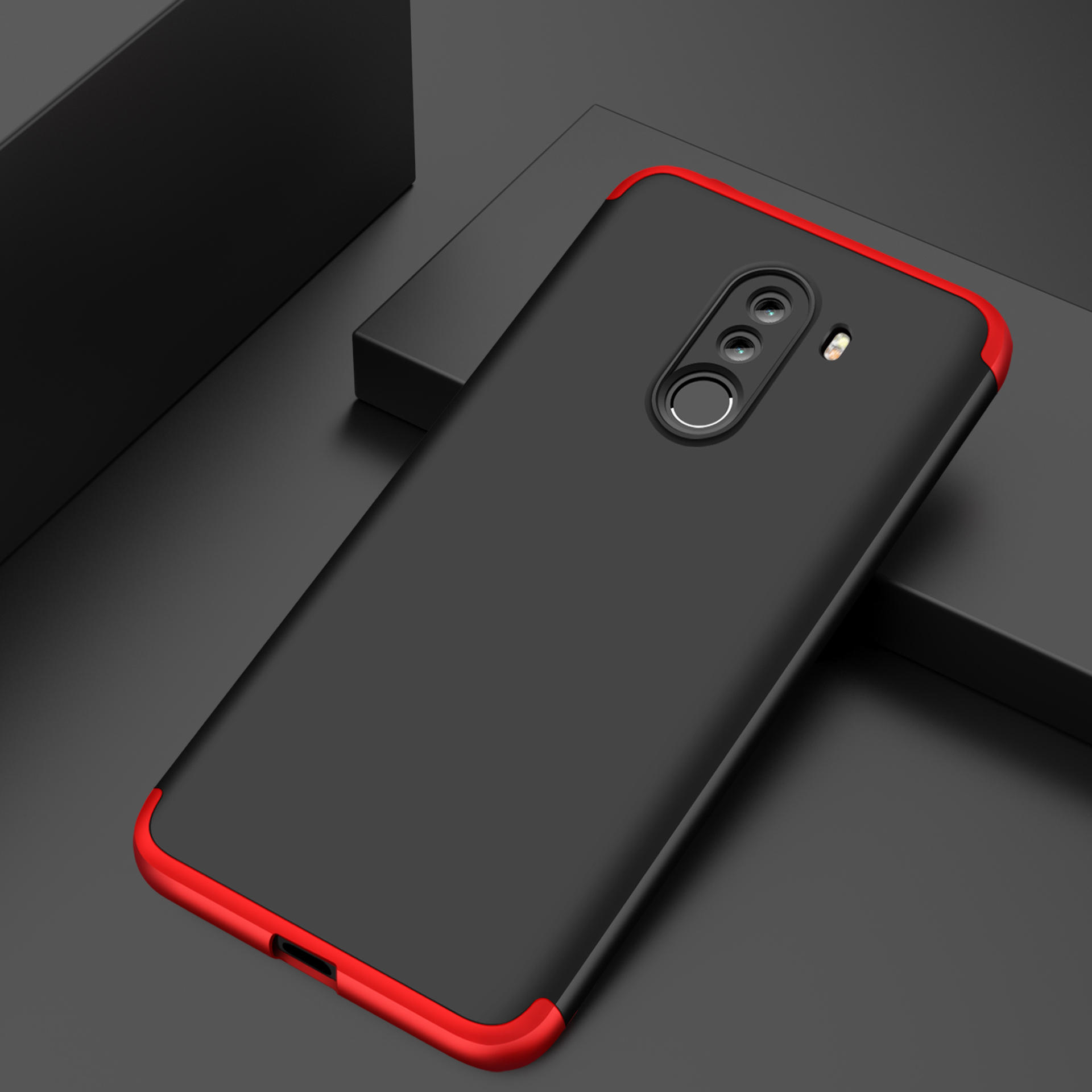 Bakeey 3 In 1 Double Dip 360 Full Hard Pc Protective Case For Xiaomi Mi5c Android Nougat 71 600x600