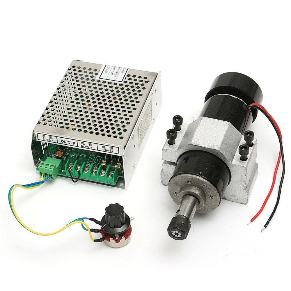 110-220V 500W Mil Motor Hız Vali ve CNC Makinesi için 52mm Klemp ile