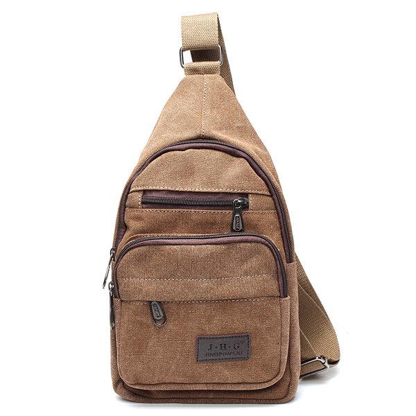 981c426e91 women men vintage canvas satchel shoulder bag messenger travel bag ...