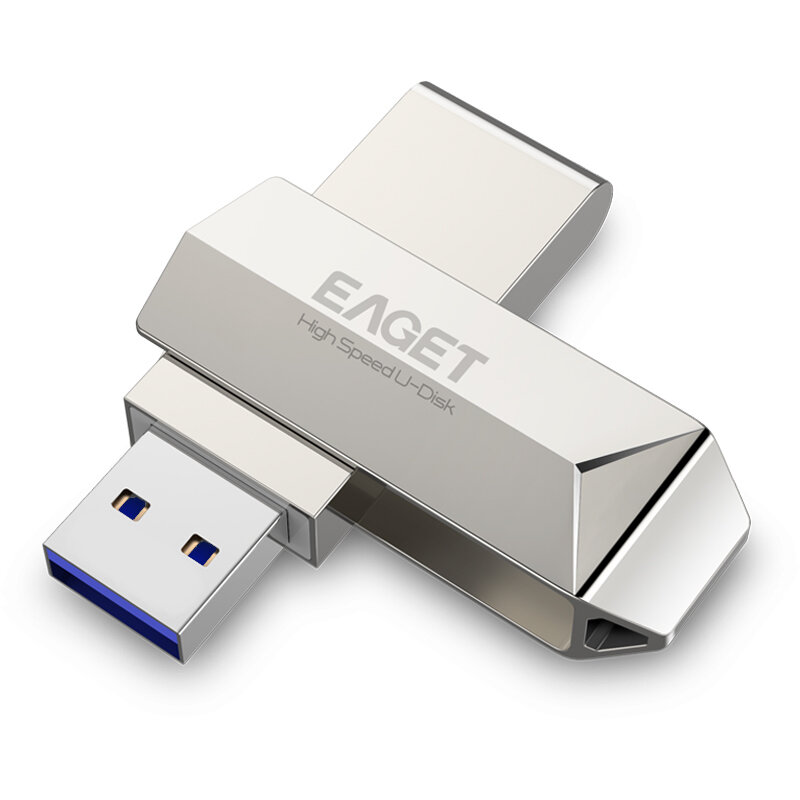 128 GB-os fém pendrive - 5000 Ft